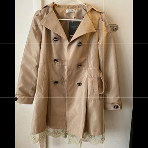 Korean fashion rainproof trench coat jacket women